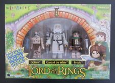 Minimates~The Lord Of The Rings~Gollum + Gandalf The White+ Frodo +?~4 Pack~Nisb