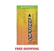 Herbalife Liftoff Effervescent Energy Supplement Tablet, Fruit - 10 Count