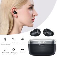 Bluedio Fi Bluetooth Earphone TWS Wireless Earbud Waterproof Stereo Headset 2020