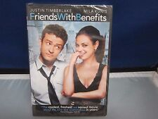 Friends With Benefits Justin Timberlake DVD *New NBO Super Fast Shipping+Tracing
