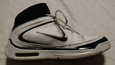 NIKE Air Zoom Elite - White/Black Basketball Shoes Size 11.5