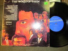 The World of THEM LP london spa122 '67 '70 van morrison vinyl rare