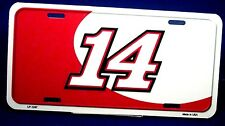 Novelty NASCAR license plate #14 Racing New auto tag aluminum car USA LP-1247