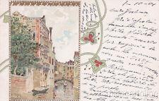 * RAFFAELE TAFURI - Venezia - Stile Liberty, Ed.Benzo e Fiecchi 07.10.1901