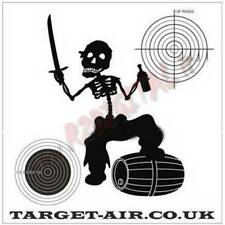 BERSAGLIO 14x14 TARGET-AIR PIRATI CARTONCINI 50Pz SAGOMA SOFTAIR AIRGUN PIOMBINI