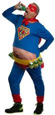 Brandsseller Herren Kostüm Lustiger Superheld Karneval Fasching Party One Size