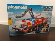 """PLAYMOBIL® City Action 5337 """"Flughafenlöschfahrzeug mit Licht & Sound"""" NEU/OVP!"""