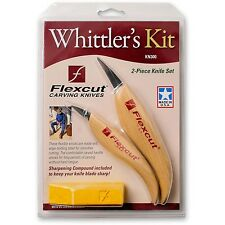 Flexcut Whittlers Kit 2pc Set 211379 Esculpido Herramientas