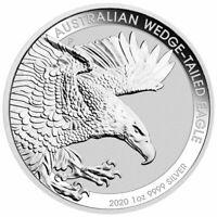 2020 P Australia 1 oz Silver Wedge-Tailed Eagle $1 Coin GEM BU SKU60449