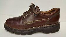 Womens Born (Børn) Brown Oxford Lace Up Casual Shoes Size 8 EU 39 W3788 EUC