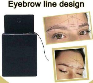 Microblading Eyebrow Mapping String Pre-Inked Eyebrow Marking thread UK