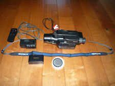 Sony Handycam Video8 8mm Camcorder Player or Transfer CCD-FX730V Tested AC-V25A