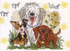 Cross Stitch Kit ~ Janlynn Suzy's Zoo Dogs of Duckport Arf! Arf! #038-0204
