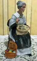 ROYAL DOULTON LADY FIGURE OLD LADY EMBROIDERING MODEL No. HN 2855  PERFECT
