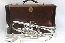 Bach Stradivarius 37 ML Bb PRO CORNET Horn Professional Hard Case FAST SHIP L@@K