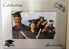 GRADUATION SILVER PHOTO FRAME GREAT GIFT FOR HSC UNIVERSITY OR COLLEGE GRADUATES