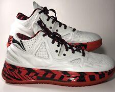 Li-Ning Way of Wade 2 Encore Overtown White& Red Dwayne Wade Basketball Shoes