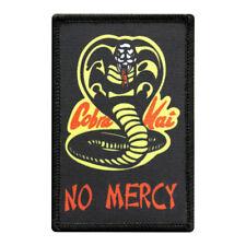 Cobra Kai Karate Kid Movie No Mercy iron on patch 3.5 inch
