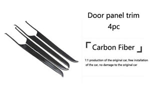 Carbon Fiber Door Panel Cover Frame Trim Cover For Porsche Macan A09