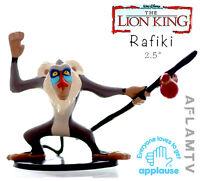 Lion King PVC Figure Rafiki Staff Applause Disney Cake Toppers Figurine Guard