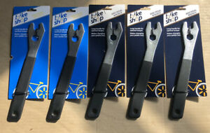 Lot of 5 NEW SEALED Bike Shop Bicycle BIke Long Handle Pedal Wrench 15 16