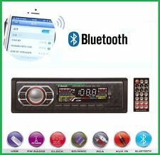 STEREO AUTO BLUETOOTH AUTORADIO VIVAVOCE RADIO FM MP3 USB AUX SD CARD 45W X 4