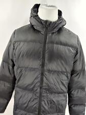 Eddie Bauer Womens XL Black Luna Peak Down Parka Jacket Winter Puffer Hooded