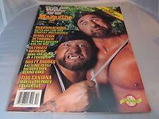 "WWF Magazine October 1989 -  ""Bushwhackers"", Ultimate Warrior, Dusty Rhodes"