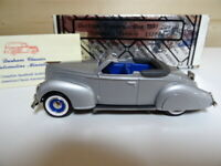 Durham Classics 1938 Lincoln Zephyr Convertible 1/43 scale Limited Edition 250