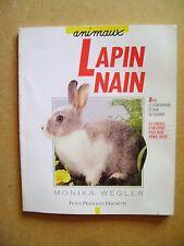 Le lapin nain soin conseils maladie nourriture  /C20
