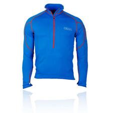 Vêtements de fitness bleus polaire pour homme