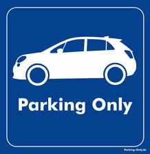 Parking Only - Fiat 500x - Aufkleber