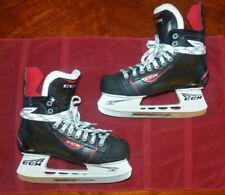9c13f142af7 CCM RBZ 60 SKRBZ Junior 5.5 D Black Red Ice Hockey Skates