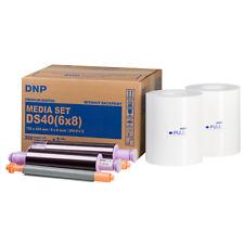 "DNP ds40 Media Set 6x8"" (15x20 cm) 400 stampe PRINTS DS 40 PC carta Mediaset"