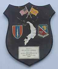 Wartime Vintage 57th Signal Company Plaque