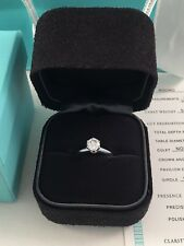 Tiffany & Co Platinum .62ct Brilliant Cut Diamond Engagement Ring RRP $10700