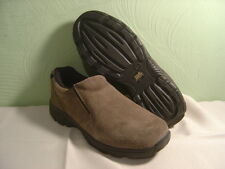 Men's WRANGLER JEAN CO. Brown Suede Leather Loafers Size 8