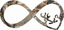 Camo Infinity Heart  Sticker  Decal