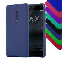 Case for Nokia Protection Cover matt colors Bumper Silicone Shockproof