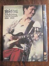 Ronald Cheng Live in Concert Cantonese Mandarin 2006 DVD w/ Karaoke Track