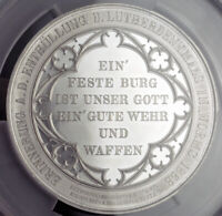 "1868, Rhineland-Paletinate, Worms. ""Luther Monument"" Medal. 60mm! PCGS SP62!"