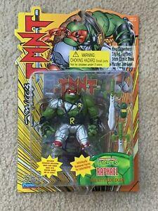 TMNT 1995 Ninja Turtles Jim Lee's Raph Raphael Action Figure Toy MOC Sealed RARE
