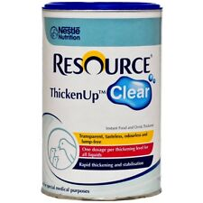 BRAND NEW NESTLE RESOURCE THICKENUP CLEAR 125G Food Drink Thickener