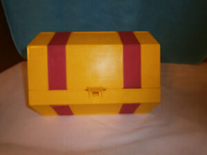 Vintage Yellow RolyKit Plastic Roll-up Storage Kit, Sewing, Crafts, Fishing & To