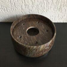 Marmorschale Brunnenschale Deko Schale Allzweck Schale mit Decke Ø 21cm X10cm