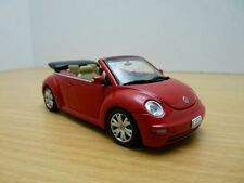 VW New BEETLE CABRIOLET rouge Volkswagen 1/43