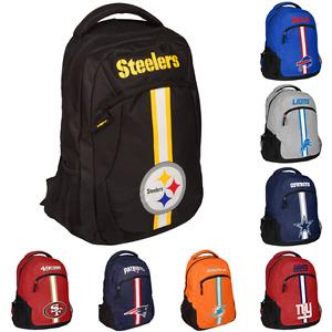 NFL Football Team Color Logo Action Backpack - Pick Team