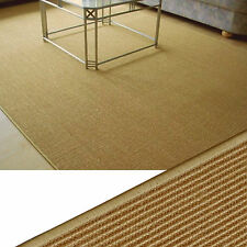 "Carpet Genuine Sisal "" Hill Natural Honey Fine "" 140X180 cm Special Design"
