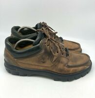 Timberland Mens Gore Tex Waterproof Hiking Work Shoes Boots Brown Size 10M