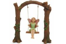 Miniature Dollhouse Fairy Garden - Arch Swing - Accessories